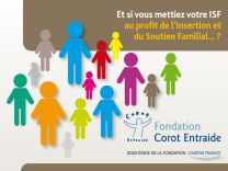 Soutenir la Fondation Corot Entraide