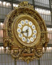 La pendule de la gare d'Orsay