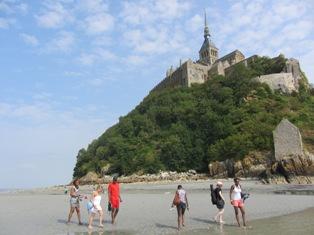 Au Mont St Michel
