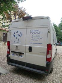 camionnette Corot Entraide