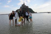 Sortie au Mt St Michel