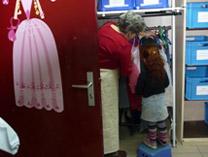 L'Accueil vestiaire enfants