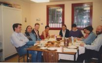 Repas avec des jeunes _Archives